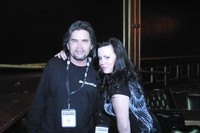 Me and My Sister Jenn at The  Galaxy Theater 09/2007 Photo Shoot - She was my 2nd Photographer